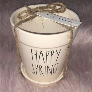 RAE DUNN  |  HAPPY SPRING Planter